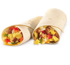 mcdonalds breakfast burrito carbs