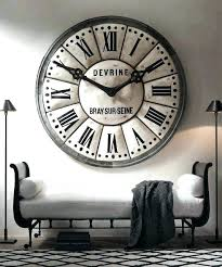 large wall clocks hobby lobby oversized wall clocks rustic metal large home design ideas on a