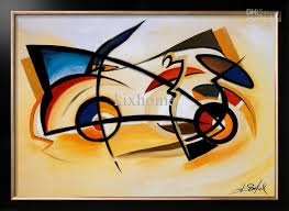 oil painting abstract home decor canvas perpetual motion by alfred gockel high quality handicraft oil painting canvas with 191 26 piece on