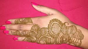 Gujarati Mehndi Design Images