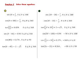 trigonometry kus objectives bat