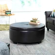 diy round ottoman white modern wood coffee table reclaimed metal mid century round natural padded large
