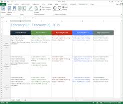 Daily Calendar Template Word Customize And Print Calendar Templates In Excel And Word 23