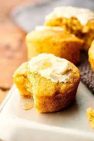 Easy Cornbread Muffins Recipe W Sour Cream Honey Creamed Corn