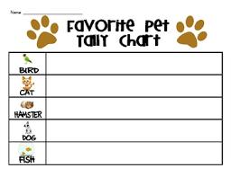 Teaching Tally Charts Fun Tally Charts