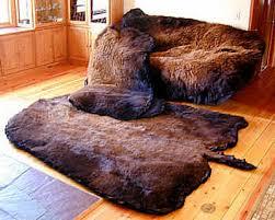bison buffalo skulls mounts and rugs for bill s bear faux buffalo hide