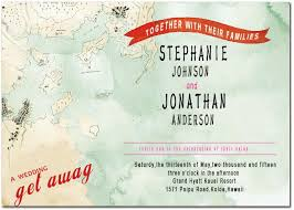 Map And Ribbon Wedding Invitation Cards Hpi059 2429290 Weddbook