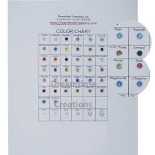 Spark Color Chart Spark Machine Cut Hot Fix Stones Color Chart