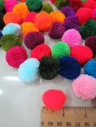"Lisu pompoms,<b>100pcs</b> x 10mm 0.39"" Set of 100,Hmong decoration ..."