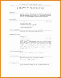 Certified Nursing Assistant Resume Templates Best Of Cna Job