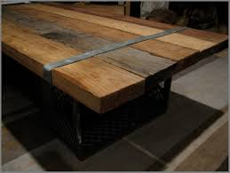 modern homemade coffee table ideas milk crates handy husband diy wood coffee table ideas