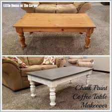 great chalk paint coffee table furniture diy furniture home painted coffee tables before and after