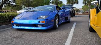 VIDEO: 1999 Lamborghini Diablo VT at Charleston Cars & Coffee ...