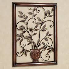 touch to zoom on flowers in vase metal wall art with tosca floral metal wall sculpture