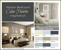 Master Bedroom Paint Color Inspiration Friday Favorites Bedroom Color  Palette