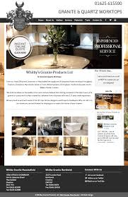Web Design Whitby Whitby Granite Products Wordpress Website Design Manchester
