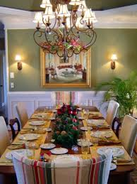 Christmas Dining Room Christmas Dining Room Table Setting Ideas Formal Dining Room