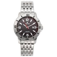 mens croton group croton men s aquamatic stainless steel sport watch date