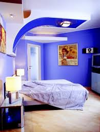 Bedroom Paint Design - Painting a bedroom blue