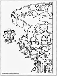 Small Picture Zoo Coloring Pages KindergartenColoringPrintable Coloring Pages