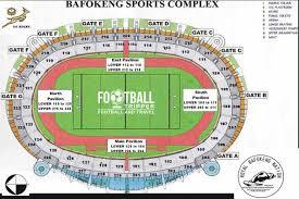 Royal Arena Seating Chart Royal Bafokeng Stadium Platinum Stars Football Tripper