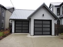 northwest door full view aluminum modern classic garage door modern shed