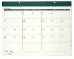 At A Glance Fashion Monthly Desk Calendar 2015 22 X 17 Inch Page