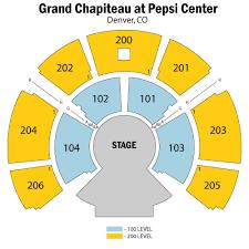 Denver Cirque Du Soleil Seating Chart Grand Chapiteau At Pepsi Center Tickets Grand Chapiteau At
