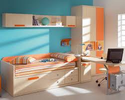 Orange Bedroom Decor Gorgeous Image Of Awesome Kid Bedroom Decoration Using White