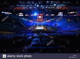 a general view of the mgm grand garden arena on the 9th april 2016 hours before