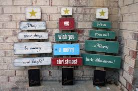 Christmas Signs Christmas Wishes Tree Signs By Andrea