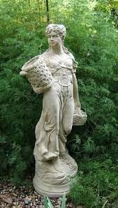 24 concrete garden statues ideas