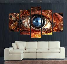 steampunk wall art home decoration for living room decor wall art picture printed steampunk abstract eyes steampunk wall art  on steampunk wall art diy with steampunk wall art steampunk wall art wall decor steam punk lighting