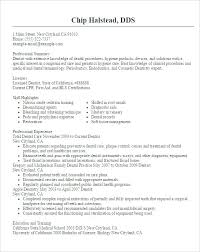 Dental Resume Template Best of Dental Resume Format Doctor Resume Templates Free Samples Examples