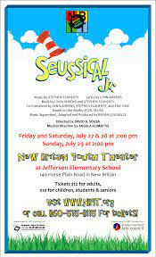 'seussical the musical jr.' category: Auditions Scheduled For Seussical Jr Nbyt