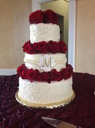 Red And Gold Wedding Cake Wedding Ideas Wedding Cakes Wedding