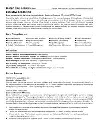 Executive Director Resume 18 Sample Cover Letter For Non Profit