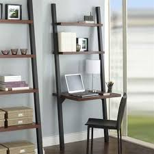 aspect leaning bookcase and desk by tag previously sold by crate barrel