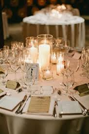 Wedding Reception Centerpieces Without Flowers