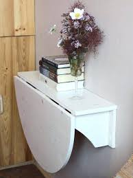 wall mounted desk wooden drop leaf by foldable table fold down australia