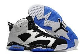 Nike Air Jordan 6 Mens Air Jordan 6 Retro Men Black White