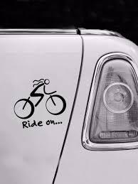 Car Brake Light Stickers Car Decorative Sticker Bicycle Pattern Universal Pvc Stickers