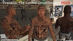 Gta 5 Mod Franklin The Latino Gangmember Ms 13 Hdhq Ufuseproductionsinc