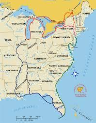 Great Loop Charts The American Great Loop Adventure Map Technomadia