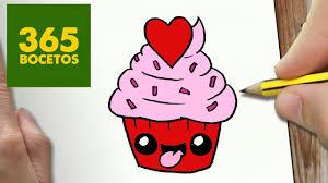 Comment Dessiner Cupcake Kawaii Tape Par Tape Dessins Kawaii Petit Dessin Facile Donut Kawaii L