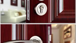 Double Swing Door Magnetic Lock • Double Door Ideas