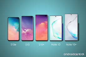 Samsung Note Comparison Chart Heres Exactly How Big The Note 10 And 10 Are Next To Other