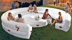 inflatable pool furniture. Inflatable Furniture Giant Outdoor Circular Couch Sofas Amazon . Pool