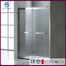 bathroom sliding shower doors bathroom double bypass sliding glass shower doors width 2 way sliding tub