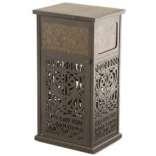 lovable patio trash can backyard decor suggestion patio garbage can newsonair